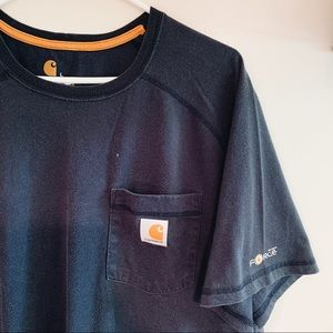 Carhartt T-shirt Navy blue size Large
